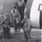 Bill Prindible 1st Pilot and Crew return from Normandy D+1 mission June 7, 1944