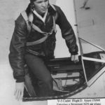 David Arant in a Stearman