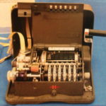 Georgette McGarrah Hagelin Machine also known as The Enigma Machine