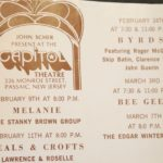 Capitol Theater Music Program