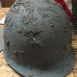 Jerry Kasten's Korean War Era helmet