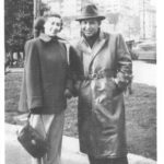 Margaret and Simon Hopkovitz leaving Italy for the USA on December 31,1949