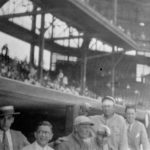 Henry Pearlstone, Billy Budner, Jack Quinn, unknown, Ty Cobb, Milton Loeb