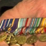 Robert Valtr's medals recognizing his service – 2