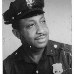 Ormand in NYPD uniform;1954.