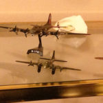 Conrad Lohoefer's B-17 model planes