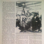 Newspaper article about an auction that Bernie Dworkin called.