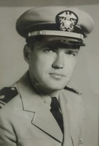 Cecil Glass WWII Photo