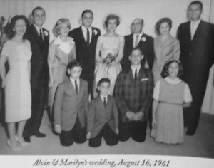 Al and Marilyn Golman's Wedding Day