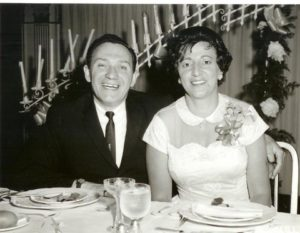 Arnie Marks' Parents as Newlyweds