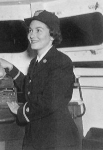 Barbara Parks in uniform