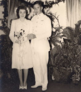 David and Lannie Arant wedding picture