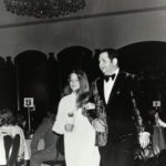 Fonda Arbetter and her father at Israeli Bond event 1970
