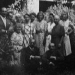 The family Georgette Moller McGarrah's family stayed with in Marsac France
