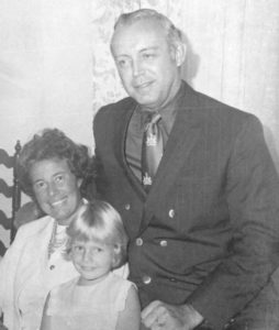 Georgette McGarrah, her husband and daughter Nicole