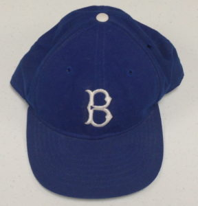 Harry Hermann's 1950's era Brooklyn Dodger's ball cap