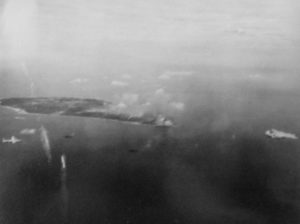 Aerial View of Iwo Jima