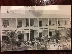 The orphanage Christina Curtis stayed at in Chu Lai Vietnam