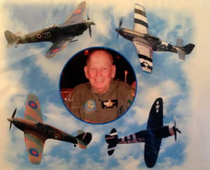 All the Fighters Jack Bradshaw flew in combat