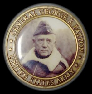 Front side of coin given to Jack Repp by General Patton's grandson