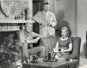 Jon during his Oklahoma State year with his Mom & Dad; Walter & Anna Mary Gilliam