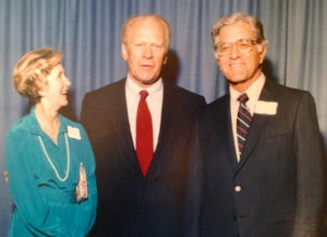 Julius and Marion King with President Ford
