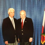Julius King with Vice President Cheney