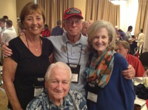 Iwo Jima 68th Anniversary Kathy Painton, Don Graves, Laura Leppert Lt Gen Snowden