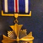 Ken Nelson's Distinguished Flying Cross