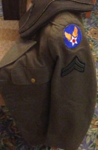 Ken Nelson's uniform jacket and cap
