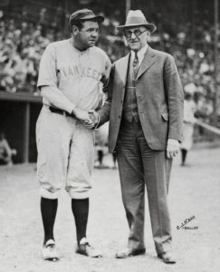 Babe Ruth and May Sebel's Grandfather Hyman Pearlstone