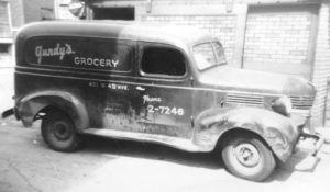 Michael Gundy's Grandfather's Delivery Van