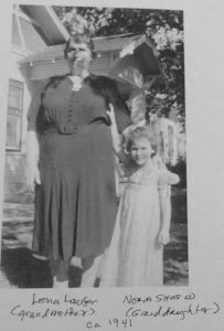 Norma Shosid and her maternal Grandmother