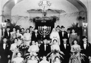 Norma Shosid's parent's wedding
