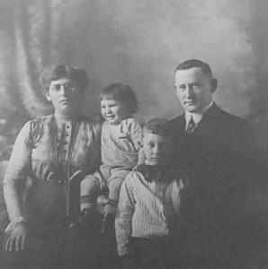 Norma Shosid's maternal grandparents and aunt and uncle