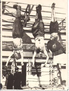 Paul Fouts witnesses Mussolini and his friends being sentenced to death