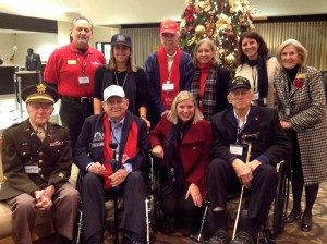 Pearl Harbor Day 2012 in DC with Daughters of WW II