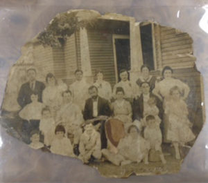 1941 Perl Friedman's mother's parents are in the top right and Pearl's mother is sitting in her father's lap
