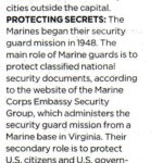 AP article regardng the role of Marines