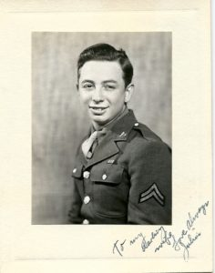 Red Coleman's War Portrait in 1944
