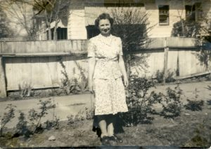 Red Coleman's Mother, Rebecca, in the 1940s