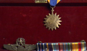 Robert Valtr's medals recognizing his service