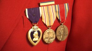 Roy Elsner's honor medals