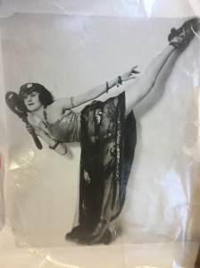 Rhonda Farbers grandmother, Sylvia Biers, danced on broadway with James Cagney