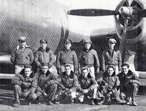 Seymour Farber and flight crew