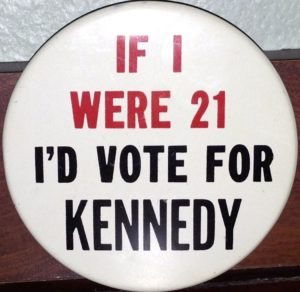 1960 Kennedy Campaign Button