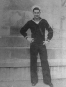 Sonny Hacker in uniform