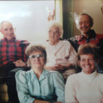 Topper Painter (far left) and some of his family
