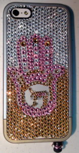 A cell phone case designed by Stephanie Berman