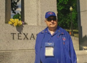Dean Willis on Honor Flight to DC in 2013